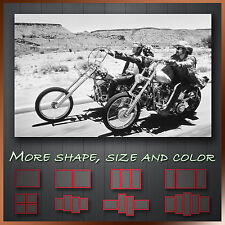 ' Easy Rider ' Modern Abstract Movie Wall Art Deco Canvas Box