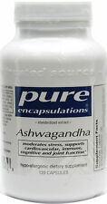 Pure Encapsulations Ashwagandha (Standardized Extract) Vegetable Capsules