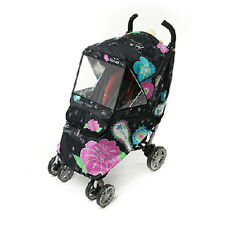 MANITO LUXURY VIVID COVER Baby Stroller Rain / Snow/ Wind Cover Weather Shield