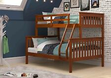 Twin over Full Mission Bunk Bed - Espresso -Kids Furniture