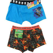 Boys Undies Trunks Underwear Size 4 to 14 Bart Simpson Ninjago Lego New