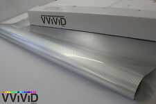 Silver Brushed Chrome Car Decal Vinyl Wrapping Film Bubble-Free CHRC5M