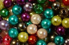 MIXED~ROUND~PEARL~ACRYLIC~ BEADS~4MM, 6MM, 8MM, 10MM