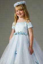 Brand New Flower Girl Dress with Floral Waistline for Just $31.00