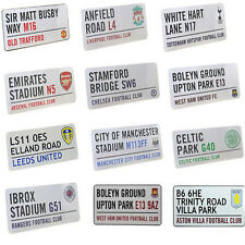 Football Club FC Signs, Changing Room Door Metal Sign, Street Sign Official