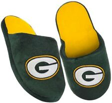 Green Bay Packers Embroidered NFL Licensed Kids Slide Slippers Sizes S M L XL