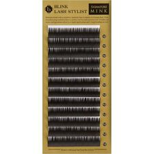False Eyelash Extension Blink Signature MINK Lashes D Curl