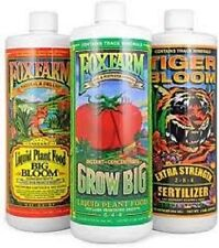 FOXFARM SOIL TRIO - BIG BLOOM / GROW BIG / TIGER BLOOM U CHOOSE TRIO BAY HYDRO