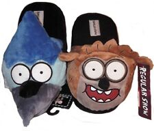 Regular Show RIGBY & MORDECAI Men's Plush SLIPPERS