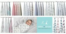 Aden and Anais Swaddle Wraps Cotton Muslin Printed 4 Packs-Choose your own Pack!