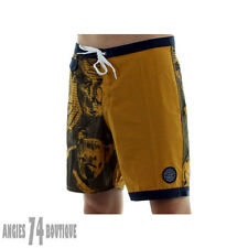 Genuine Vans JT Trimline 18'Boardshort in Harvest Gold Dress Blues MENS Size 28