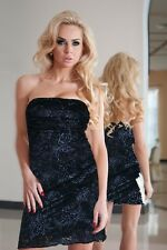 New Ladies Womens Wedding Party Clubwear Evening Sexy Lace Floral Mini Dress