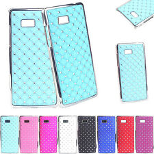 Luxury Plating Bling Diamond Hard Cases Cover For HTC Desire 600 Dual SIM 606W
