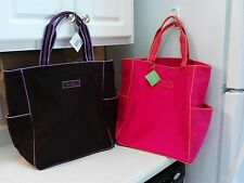 VERA BRADLEY BOXY TOTE IN BERRY OR BARK EXTRA LARGE TOTE *NWTS&FREE SHIPPING