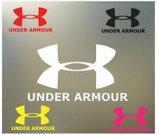 "18"" under armour logo sports coach football soccer golf vinyl Decal sticker S685"