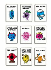 MR MEN AND LITTLE MISS FRIDGE MAGNETS FREE POSTAGE
