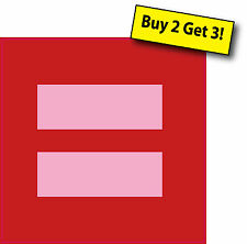 Human Rights Campaign Marriage Equality Decal Sticker Free Shipping Buy 2 Get 3