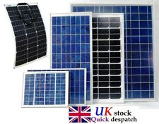 40w 50w 100w 200w 80w (40w x2) Solar Panel Trickle 12v Battery Charger Caravan