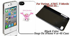 Pink Panther Design iphone4 / 4s Snap On Case #ip4-255
