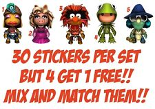 30 MUPPETS ANIMAL  NAIL ART DECALS STICKERS /TRANSFERS PARTY FAVORS