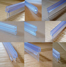BATH DOOR SHOWER SCREEN SEAL for LSTRAIGHT or CURVED GLASS