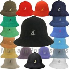 Authentic Kangol Bermuda Casual Bucket Hat Cap 0397BC S M L XL XXL Black White
