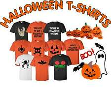 FUNNY PRINTED HALLOWEEN T-SHIRTS VARIOUS COLOURS & SIZES