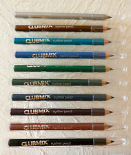 CLUBMIX COLOURED EYELINERS IN 10 COLOURS TO CHOSE FROM GREAT BUY FREE UK P&P