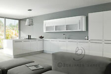 High Gloss White Kitchen Cabinet Cupboard Door Fronts - High Quality Acrylic
