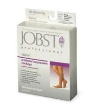 Jobst Vairox Knee 30-40 mmHg Compression Stockings Supports Open Toe Zippered