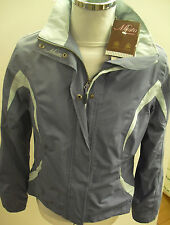 MUSTO LADIES SUMMER PADDOCK JACKET IN BLUEBERRY AND PERIWINKLE BNWT
