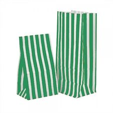 GREEN CANDY SWEET / PICK AND N MIX PARTY BAGS - CAKE WEDDING BUFFET POPCORN BAG