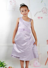 New Flower Girl Party Bridesmaid Wedding Pagent Dress in 3 Colour  From 6-11Year