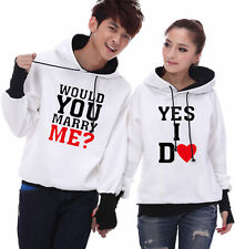 4 Colors Yes I do ! Lovers Couples Hoodie Leisure Thick warm Women Men WL5098
