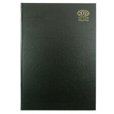 2015 A5 ONE DAY TO A PAGE DIARY PAGE A DAY DIARY HARDBACK COVER DESK DIARY NEW