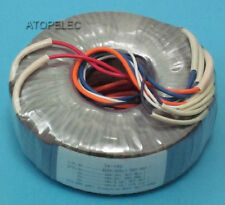 220V 120W Toroidal Transformer for Audio Amplifier AMP - Selectable Outputs