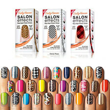 Sally Hansen salon effects Nail Polish Strips Stickers YOU PICK many colors