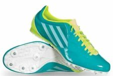 NEW Womens Sz 11 ADIDAS Spider 3 Lt Teal Middle Distance Track Spike Shoes