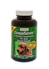 NaturVet GrassSaver Dog Supplement to Get Rid of Yellow Lawn Spots CHOOSE SIZE