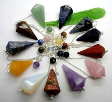 Beautiful Mixed Gemstone pendulum Pendant Bead