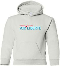Air Liberté Vintage Logo French Airline HOODY