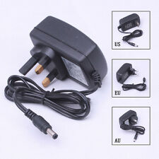 New AC 110-240V To DC 12V 2A Power Supply Adapter For 3528 5050 LED Strip