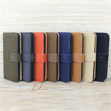 Hot Sale For Apple iPhone 5C Leather Flip Stand Wallet Holster Case Cover Pouch