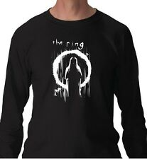 tshirt manica lunga mv110 the ring-samara-horror-film-pozzo-tv