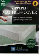 DUST FREE BRAND NEW ZIPPER STYLE MATTRESS COVER, BED BUG AND ALLERGY RELIEF!!!!!