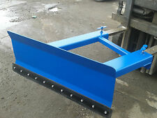 FORK LIFT SNOW PLOUGH 4FT - 5FT - 6FT OPTIONS, BEAT THE SNOW THIS WINTER