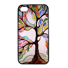 Colorful Tree of Life Designer Hard Back Case Cover for Apple iPhone 4 4S 5 5S