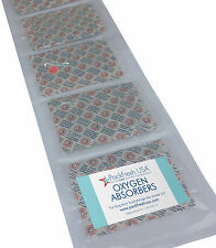 2000cc Oxygen Absorbers INDIVIDUALLY SEALED (incl Long Term Food Storage Guide)