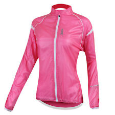 UV Protection Women's Sports Outdoor Cycling Wind Coat Jacket 3 Size XS~M