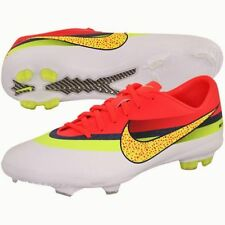 NEW Youth NIKE Mercurial Vapor IX CR FG White Volt Soccer Cleats Futball Boots 6